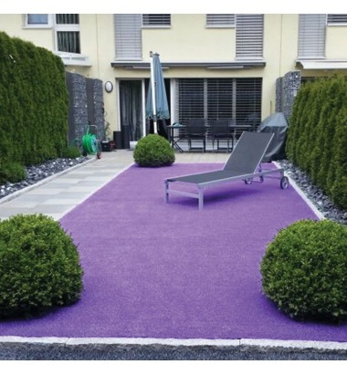 Trulawn Lifestyle - Colourful Purple Grass