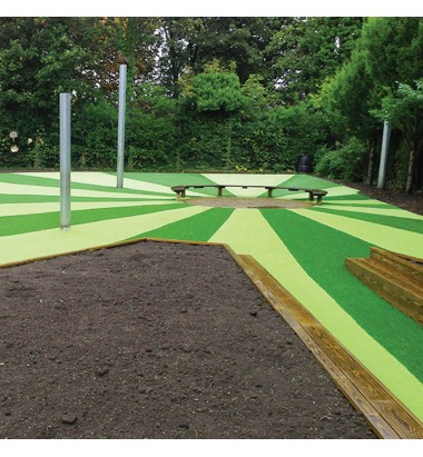 Trulawn Lifestyle - Colourful Lime Grass