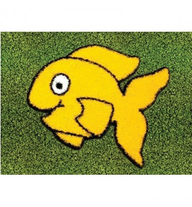 Fun Grass Little Yellow Fish
