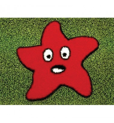 Fun Grass Red Starfish