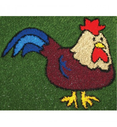 Fun Grass Rooster