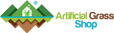 artificial grass shop logo